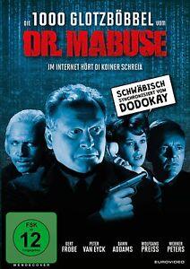 Die 1000 Glotzböbbel vom Dr. Mabuse [DVD/NEU/OVP] Schwäbisch /Gert Fröbe, Peter