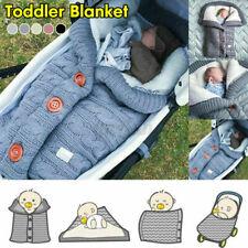 Baby Winter Schlafsack mit Beinen Kinder Strampler Schlafanzug Baumwolle DE
