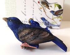 Audoban Birds THE METROPOLITAM Museum of Art Indigo bunting bird ornament - NIB