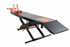Upgraded APlusLift MT1500 Air OP Motorcycle Lift Table (1500LBS, No Side Ext.)