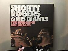SHORTY ROGERS -Swinging Mr. Rogers ~ATLANTIC 90042 {nm} Reissue of Atlantic 1212