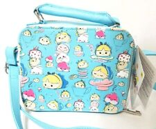 Disney Store Alice In Wonderland Crossbody Tsum Tsum Purse Bag Cheshire