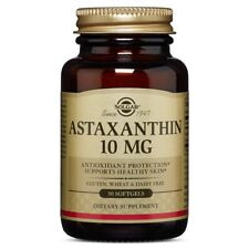 Solgar Astaxanthin 10 mg, 30 Softgels FREE US SHIPPING exp date 05/2020