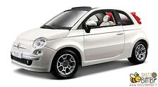 1/24 Burago / Bburago Collezione FIAT 500c Cabriolet Bianco (22117)
