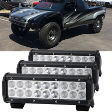 3 x LED Light Bar Waterproof for OffRoad Truck Car ATV SUV Boat Lamp 9inch 54W