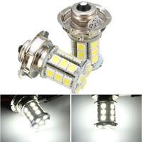 Paire 12V P26 S 24 SMD LED 5050 6000K Phare Ampoule Feux Lampe Blanc Auto Moto