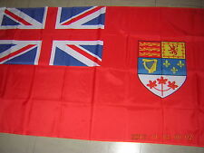 100% NEW British Empire flag 1957- 1965 Canada Canadian Red Ensign 3X5ft GB EIIR