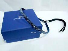 Swarovski Crystaldust Choker Blue, bracelet headband Adjustable MIB 5279163