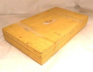 Vintage Tarnish Resistant Wood Silverware Flatware Wooden Storage Chest Box 92
