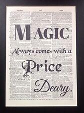Magic sempre è dotato di idea regalo taglia A4 pagina di dizionario Antiquariato Arte