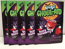 5 Ghoul-Aid Scary Blackberry Rare Kool-Aid unsweetened packets