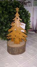 Decorazioni natalizie marrone in legno per finestre