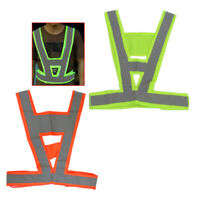 New High Visiblity Warning Security Working Reflective Vest Safety-Strip
