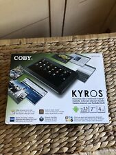 COBY Kyros touchscreen internet tablet