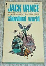 Jack Vance SHOWBOAT WORLD Vintage 1975 Science Fiction Paperback