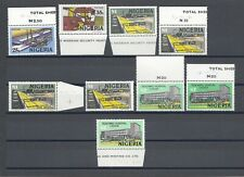 More details for nigeria 1973-74 sg 280/9 & shades mnh cat £51