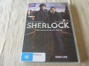 Sherlock : Series 1 (DVD, 2010, 2-Disc Set) Region 4 Benedict Cumberbatch