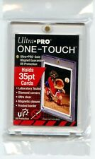 Ultra Pro One Touch 35pt Gold Magnetic Card Holder UV Free Shipping!