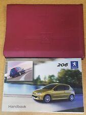 GENUINE PEUGEOT 206 OWNERS MANUAL HANDBOOK WALLET 2003-2006 PACK E-440