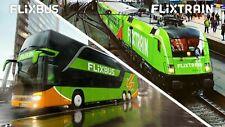 Flixtrain/Flixbus Freifahrt Ticket Direktverbindung TOP