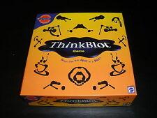 NEW THINKBLOT GAME MATTEL 2000 OPENED PICTIONARY
