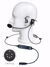 UFQ in-ear aviation headset UFQ L-1 Airbus XLR Plug - Quiet as ANR! light weight