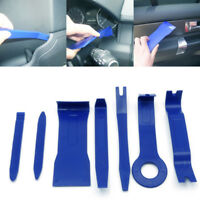 7Pcs/Set Universal Car Audio GPS Radio Door Clip Panel Open Removal Tool Blue