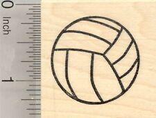 Volleyball Rubber Stamp, Sport D27432 WM