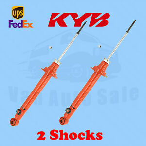 KYB Rear Shocks AGX for Nissan 240SX 95-99 Kit 2