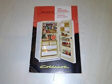 "Coldspot Manual 214512 Care  Operation Maintenance Very Good Condition ""Rare"""