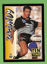 1994 Series 2 RUGBY LEAGUE CARD #187  GREG ALEXANDER  PENRITH PANTHERS