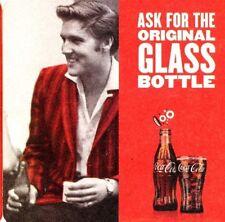 10 Coca Cola Elvis Coasters Drinks Beer Mats 100 Years Coke Bottle