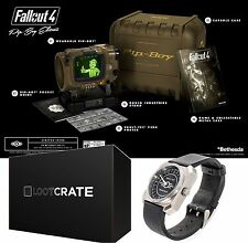Fallout 4 Pip-Boy Edition PC w/Limited Edition Watch Loot Crate 1 of 1,500 Made