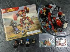 Lego Marvel Comics HULKBUSTER SMASH-UP! Complete w Instructions! #76104