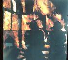 """Donald Sultan """"Fire Men"""" Modern Art 35mm Glass Slide"""