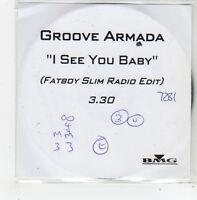 (FL905) Groove Armada, I See You Baby - DJ CD