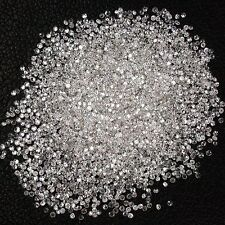 VS 200pcs ~  1.0mm ~ Full Cut Brillint Round ~ G-I White Natural Loose Diamonds