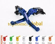 For Yamaha WR125X WR125R 2009-2015 Short Clutch Brake Levers Blue 2010 2011 2012