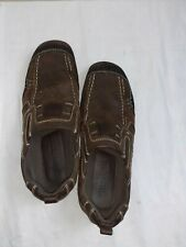 Stone Creek Mens Brown Slip On Shoes  - Size 10