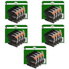 20 Black Ink Cartridges for Brother MFC-J4620DW J4625DW J5320DW non-OEM LC223