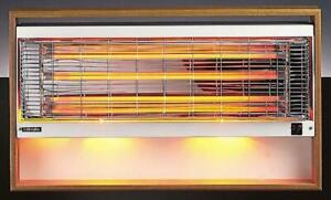 Dimplex 842S Studio 2kW Wall Mounted Radiant Fire