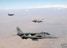 RAF Jaguar On Combat Mission Iraq War, Photo 11x8 inch April 2004
