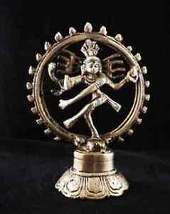 Shiva Nataraja Figur Bronze 15 cm Statue