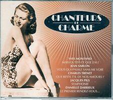COFFRET 2 CD 47 TITRES--CHANTEURS DE CHARME--MONTAND/TRENET/DARRIEUX/SABLON...