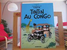 TINTIN AU CONGO 2001 TTBE AVEC PLUSIEURS TIMBRES ANGOULEME VOIR DETAIL 2ND EXEM