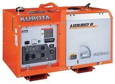 Kubota Diesel Industrial Generators