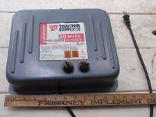Tsc Brand Electric Fence Charger 120 Volt Good Working Order 20 Mile Range