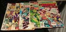 the champions 6 9 13 15 16 bronze age marvel comics lot run set movie collection