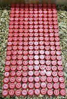 200 Coca Cola Coke Red Plastic Caps UNUSED REWARD CODES Arts & Crafts