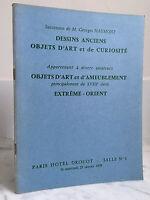 Catálogo De Venta Dibujos Antiguos Artículo de Arte Baño N º 1 21 Janvier 1970